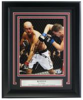 "BJ Penn Signed UFC ""The Prodigy"" 11x14 Custom Framed Photo Display (Beckett COA) at PristineAuction.com"
