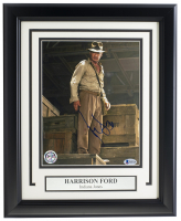 "Harrison Ford Signed ""Indiana Jones"" 11x14 Custom Framed Photo Display (Beckett LOA) at PristineAuction.com"