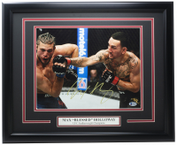Max Holloway Signed UFC 16x20 Custom Framed Photo Display (Beckett COA) at PristineAuction.com