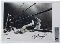 Joe Frazier Signed 8x10 Photo (Beckett Encapsulated) at PristineAuction.com