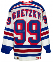 Wayne Gretzky Signed Rangers CCM Authentic Jersey (UDA COA) at PristineAuction.com