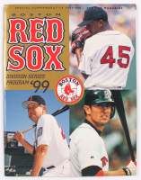 1999 Red Sox Division Series Program at PristineAuction.com