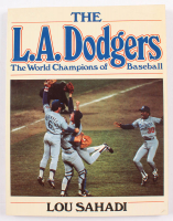 "1982 Dodgers ""The World Champions of Baseball"" Program at PristineAuction.com"