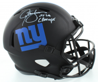 "Lawrence Taylor Signed Giants Full-Size Eclipse Alternate Speed Helmet Inscribed ""2x SB Champs"" (JSA COA) at PristineAuction.com"
