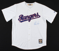 Nolan Ryan Signed Rangers Jersey (Beckett COA) at PristineAuction.com