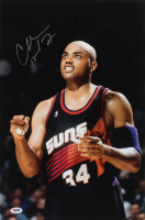 Charles Barkley Signed Suns 12x18 Photo (PSA Hologram) at PristineAuction.com
