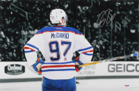 Connor McDavid Signed Oilers 12x18 Photo (PSA Hologram) at PristineAuction.com