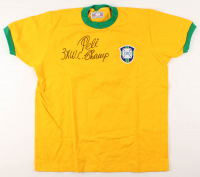 "Pele Signed Jersey Inscribed ""3X W.C. Champ"" (PSA COA) at PristineAuction.com"