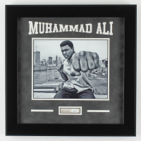 Muhammad Ali Signed 17x17 Custom Framed Cut Display (JSA Hologram) at PristineAuction.com