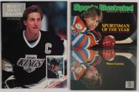 "Lot of (2) Wayne Gretzky Cover Magazines with 1990 ""Beckett Hockey"" Magazine & 1983 ""Sports Illustrated"" Magazine at PristineAuction.com"