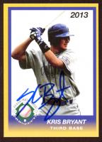 Kris Bryant Signed 2013 Diamond Prospects RC (JSA COA) at PristineAuction.com