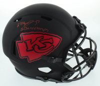 "Mecole Hardman Signed Chiefs Full-Size Eclipse Alternate Speed Helmet Inscribed ""SB LIV Champs"" (JSA COA) at PristineAuction.com"