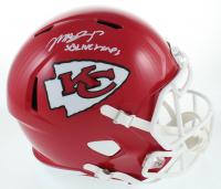 "Mecole Hardman Signed Chiefs Full-Size Speed Helmet Inscribed ""SB LIV Champs"" (JSA COA) at PristineAuction.com"
