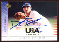 Dustin Pedroia Signed 2003 USA Baseball National Team #USA16 (JSA COA) at PristineAuction.com