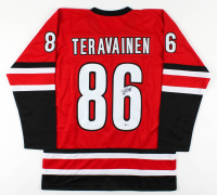 Teuvo Teravainen Signed Jersey (Beckett COA) at PristineAuction.com