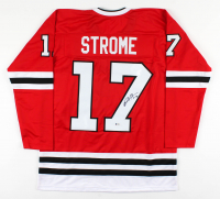 Dylan Strome Signed Jersey (Beckett COA) at PristineAuction.com