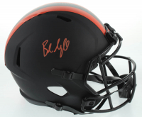 Baker Mayfield Signed Browns Full-Size Eclipse Alternate Speed Helmet (Beckett COA) at PristineAuction.com