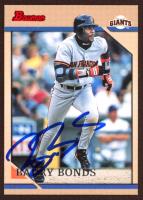 Barry Bonds Signed 1996 Bowman #78 (JSA COA) at PristineAuction.com
