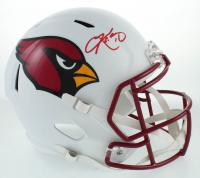 Kyler Murray Signed Cardinals Full-Size Flat White Speed Helmet (Beckett COA) at PristineAuction.com