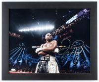 Floyd Mayweather Jr. Signed 19x23 Custom Framed Photo (JSA Hologram) at PristineAuction.com