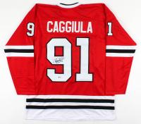 Drake Caggiula Signed Jersey (Beckett COA) at PristineAuction.com
