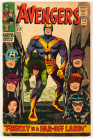 """1966 """"Avengers"""" Issue #30 Marvel Comic Book at PristineAuction.com"""