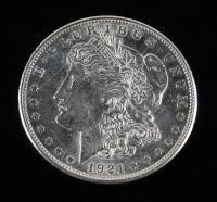 1921-D Morgan Silver Dollar at PristineAuction.com