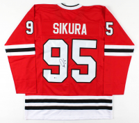 Dylan Sikura Signed Jersey (Beckett Hologram) at PristineAuction.com