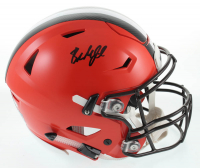 Baker Mayfield Signed Browns Full-Size Authentic On-Field SpeedFlex Helmet (Beckett COA) at PristineAuction.com