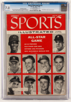 1956 Sports Illustrated Magazine (CGC 7.0) at PristineAuction.com
