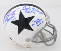 "Bob Lilly, Drew Pearson & Mel Renfro Signed Cowboys Mini-Helmet Inscribed ""ROH 2011"", ""ROH 75"" & ""ROH 81"" (JSA COA) at PristineAuction.com"