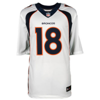 """Peyton Manning Signed Broncos Jersey Inscribed """"SB 50 Champs"""" (Fanatics Hologram) at PristineAuction.com"""