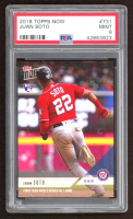 Juan Soto 2018 Topps Now #731 (PSA 9) at PristineAuction.com