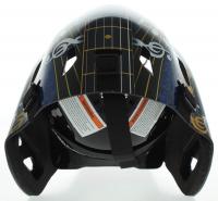 "Grant Fuhr Signed Blues Full-Size Goalie Mask Inscribed ""HOF 03"" (Schwartz Sports COA) at PristineAuction.com"