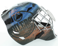 """Grant Fuhr Signed Oilers Full-Size Goalie Mask Inscribed """"5x SC Champs"""" (Schwartz COA) at PristineAuction.com"""