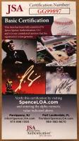 Carl Lewis Signed 34x42 Custom Framed Jersey (JSA COA) at PristineAuction.com