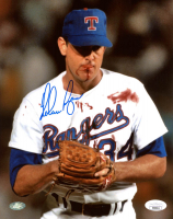 Nolan Ryan Signed Rangers 8x10 Photo (JSA COA & Ryan Hologram) at PristineAuction.com