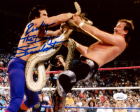 "Ricky ""The Dragon"" Steamboat Signed 8x10 Photo (JSA COA) at PristineAuction.com"
