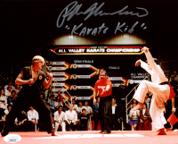 "Ralph Macchio Signed ""Karate Kid"" 8x10 Photo Inscribed ""Karate Kid"" (JSA COA) at PristineAuction.com"