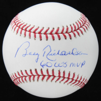 "Bobby Richardson Signed OML Baseball Inscribed ""60 WS MVP"" (Schwartz COA) at PristineAuction.com"