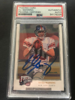 Eli Manning Signed 2008 Upper Deck Heroes #41 (PSA Encapsulated) at PristineAuction.com