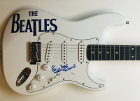 "Pete Best Signed Full-Size Electric Guitar Inscribed ""The Beatles"" (JSA COA) at PristineAuction.com"