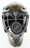 """Gerry Cheevers Signed Bruins Full-Size Hockey Goalie Mask Inscribed """"HOF 85"""" (Schwartz COA) at PristineAuction.com"""