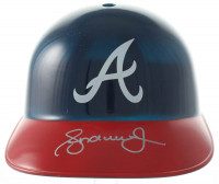 Andruw Jones Signed Braves Mini-Helmet (Schwartz COA) at PristineAuction.com