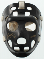 "Gerry Cheevers Signed Full-Size Throwback Goalie Mask Inscribed ""HOF 85"" (Schwartz COA) at PristineAuction.com"