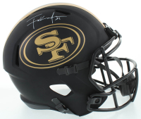 Frank Gore Signed 49ers Full-Size Eclipse Alternate Speed Helmet (Schwartz COA) at PristineAuction.com