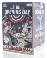 2019 Topps Opening Day Baseball Blaster Box with (10) Packs at PristineAuction.com