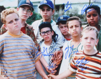 """The Sandlot"" 11x14 Photo Cast-Signed by (6) with Tom Guiry, Marty York, Shane Obedzinski, Victor DiMattia, Chauncey Leopard & Brandon Adams with Character Inscriptions (Beckett COA) at PristineAuction.com"
