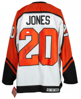 Keith Jones Signed Flyers CCM Jersey (JSA COA) at PristineAuction.com