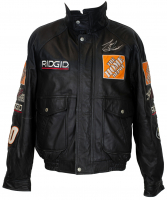 Tony Stewart Signed Leather Jacket (JSA COA) at PristineAuction.com